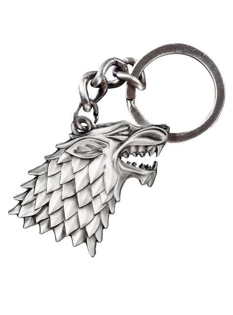 Llavero Juego de Tronos emblema Stark