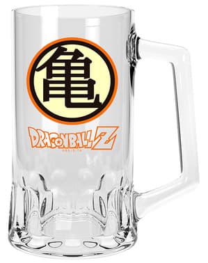 Kame symbool Dragon Ball glazen bierpul