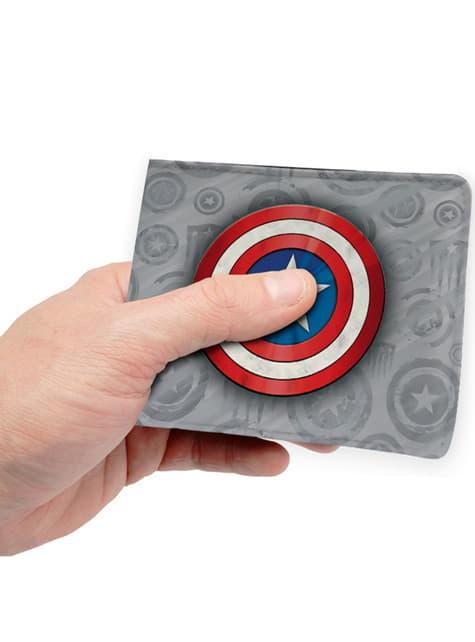 Cartera de Capitán América gris - comprar