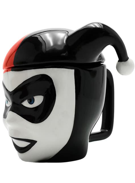 Caneca 3D de Harley Quinn