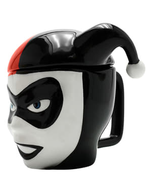 3D Harley Quinn mug