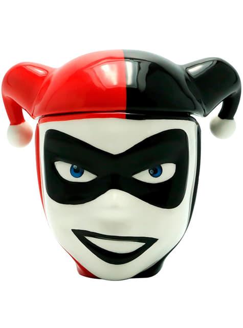 Kubek 3D Harley Quinn