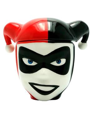 Taza 3D de Harley Quinn