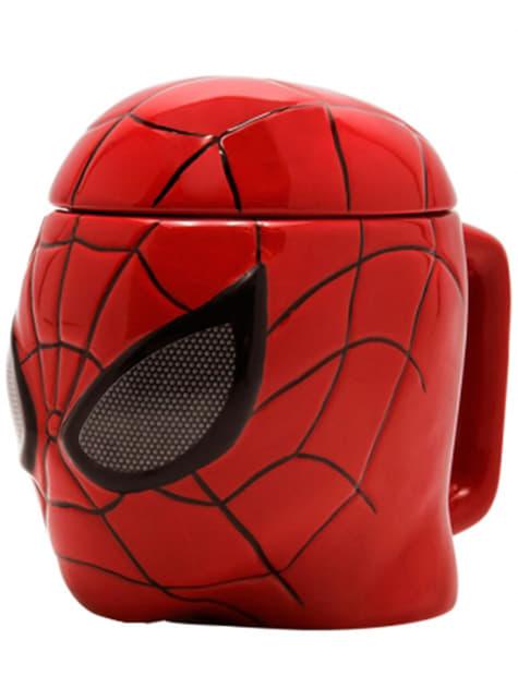 Taza 3D de Spiderman