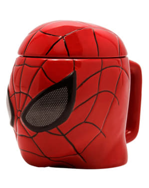 Taza 3D de Spiderman