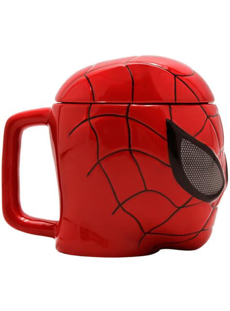 Caneca 3D de Homem-Aranha