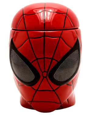 3D Spiderman mug