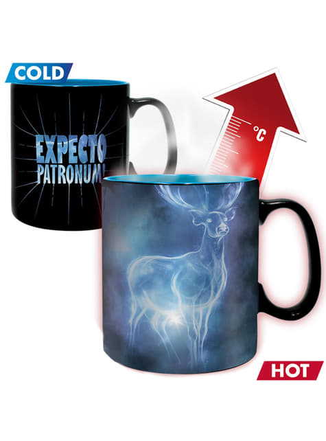Harry Potter Patronus colour-changing mug