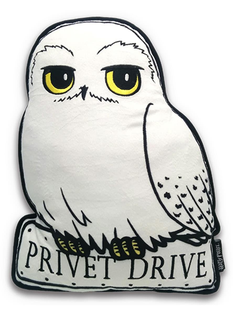 Cojín de Hedwig la lechuza Harry Potter: comprar online en Funidelia.