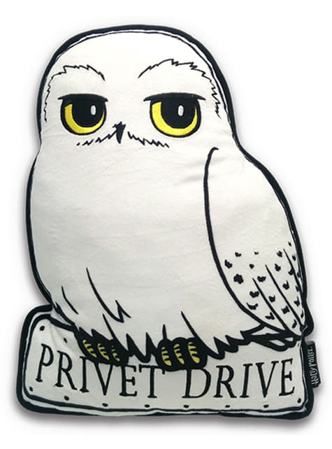 Hedwig the owl Harry Potter cushion