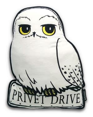 Almofada de Hedwig a coruja Harry Potter