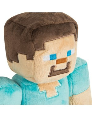 Minecraft Steve közepes töltött játékszer