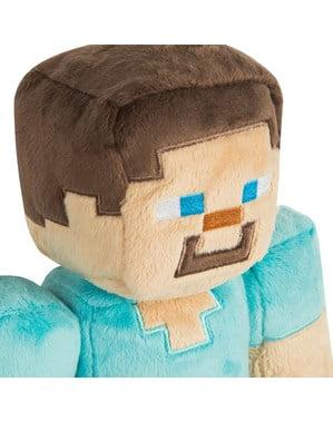 Mittelgroßes Plüschtier Minecraft Steve 30 cm