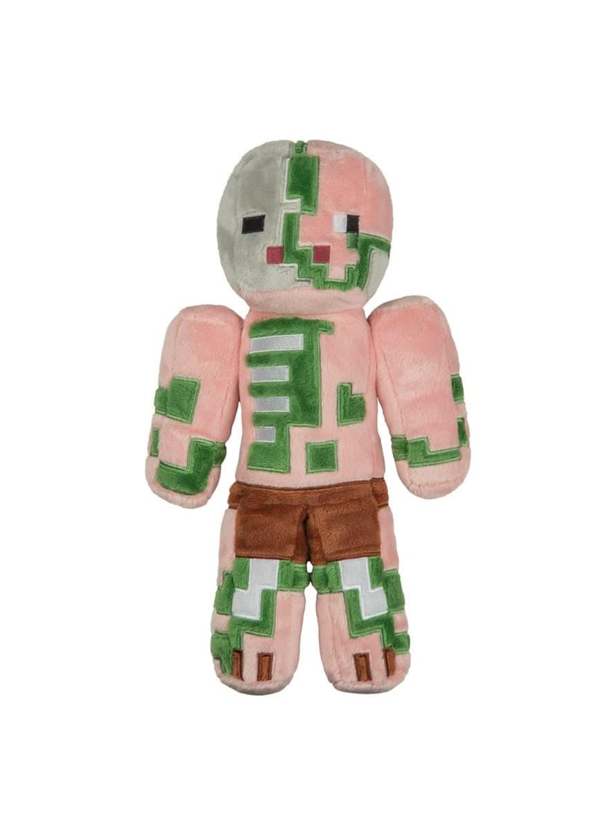Peluche minecraft homme cochon zombi officiels pour les fans funidelia - Minecraft cochon ...