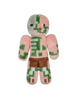 Zombie Pigman Minecraft boneka mainan