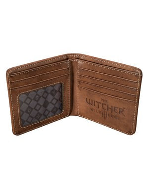 The Witcher Logo faux leather wallet