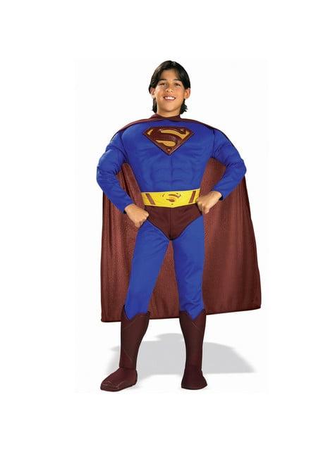 Dětský kostým s vyrýsovanými svaly Superman Superman se vrací
