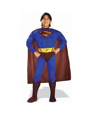 Superman Returns Muscular Kids Costume
