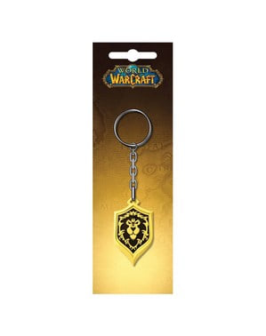 World of Warcraft Alliance keyring