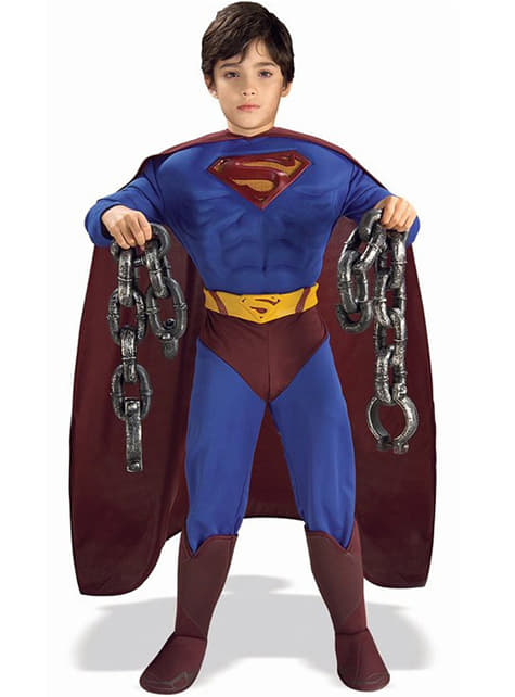 Superman Returns Muscular Kids Costume