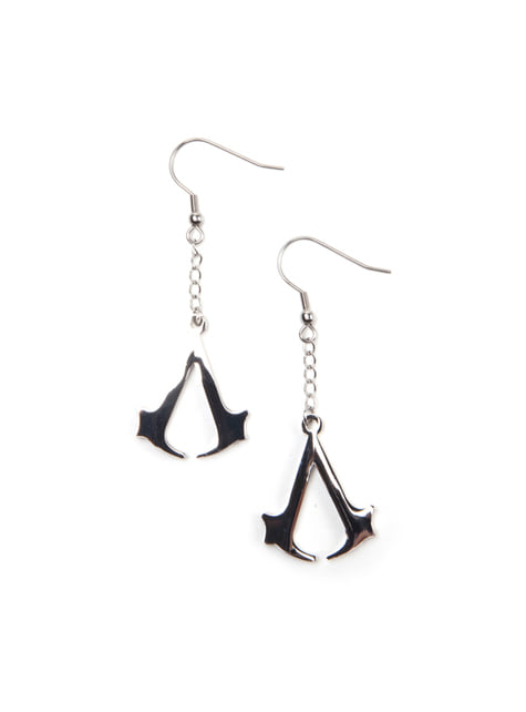Boucles d'oreilles Assassin's Creed Logo