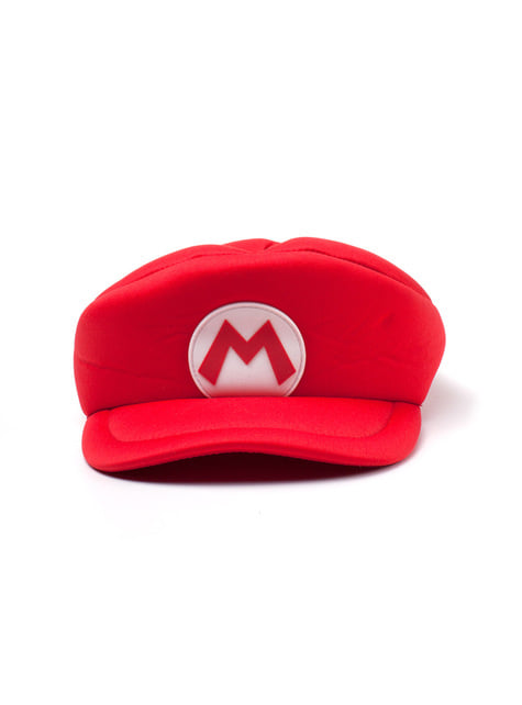 Gorra de Mario Bros roja para adulto