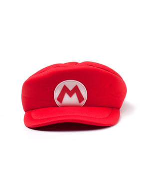 Red Mario Bros cap for adults