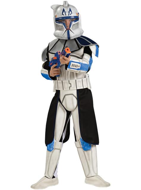Costum Clone trooper Rex deluxe pentru baiat