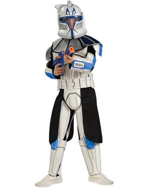 Fato de Clone Trooper Rex deluxe para menino
