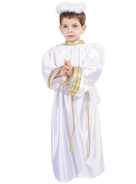 Wit engelenkostuum voor kinderen
