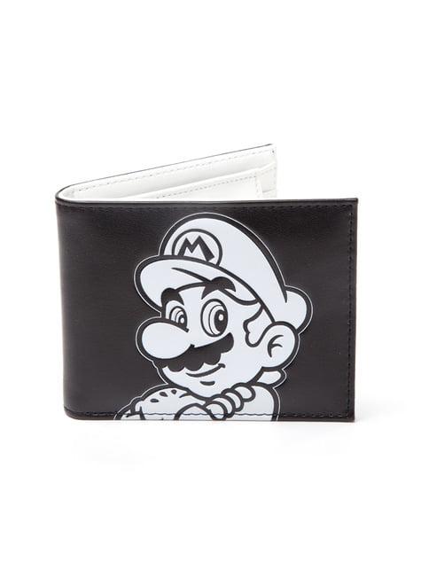 Cartera de Mario Bros Personaje BN