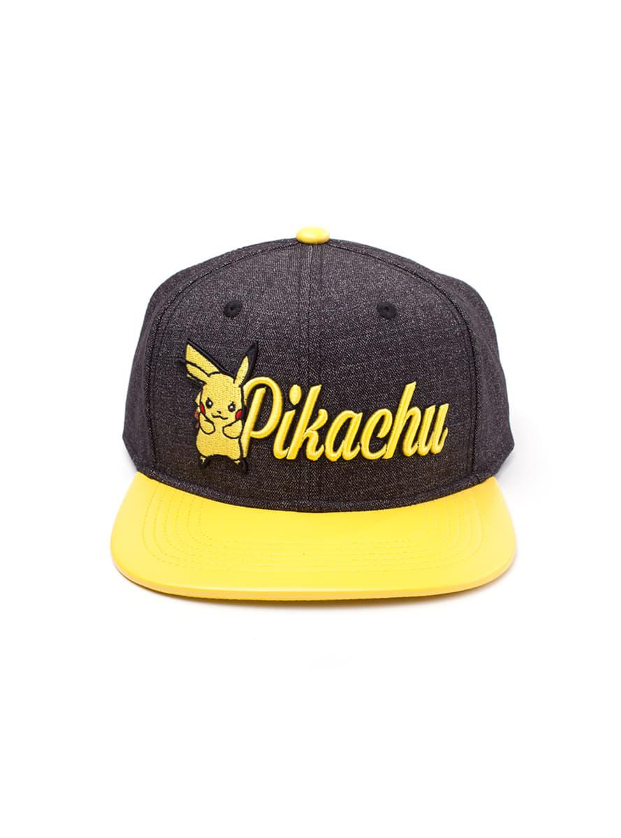 Denim Fan Cappellino Funidelia Pikachu Per Veri FHwxvq4