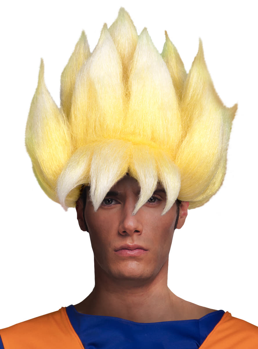 Dragon Ball Super Saiyan wig for adults. The coolest  8da79a83e45e