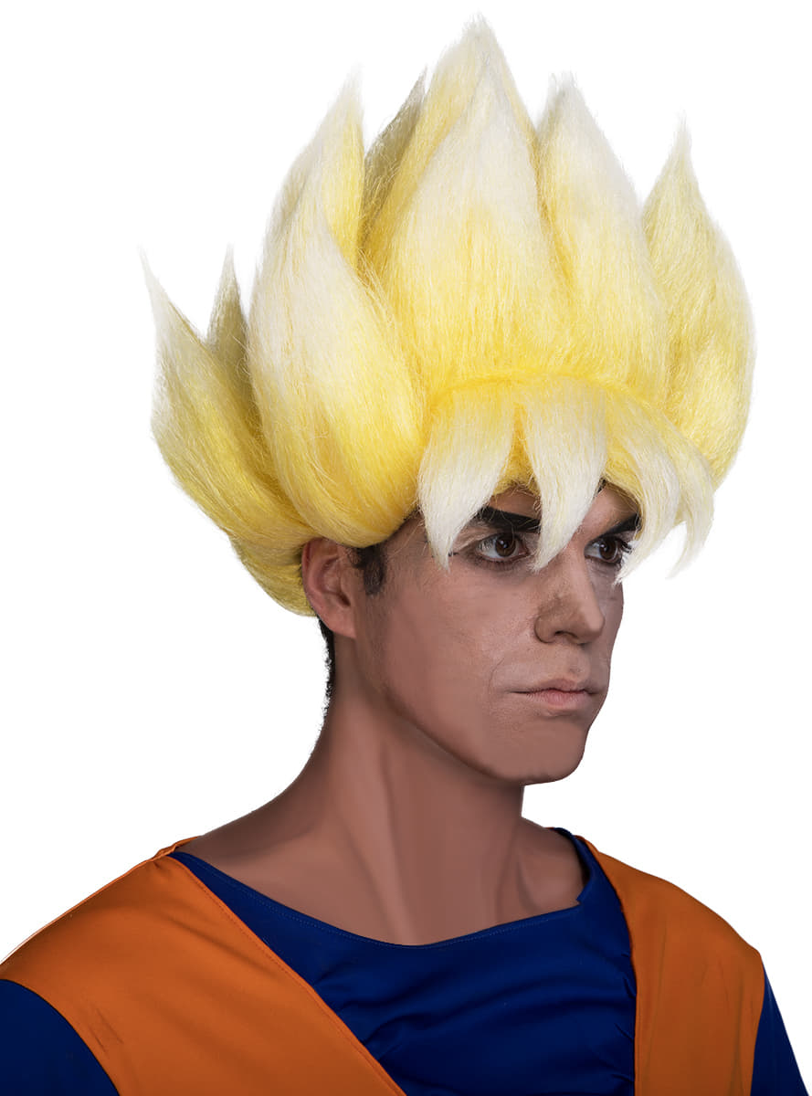 perruque de super saiyan pour adulte u2013 dragon ball online