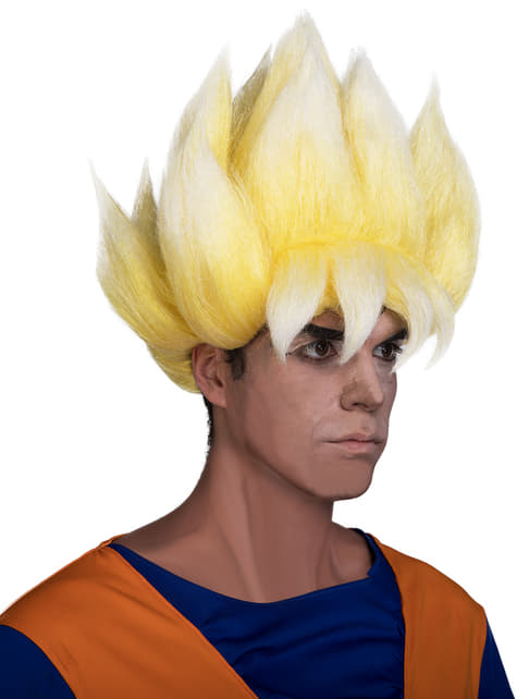 Peruca de Super Saiyan - Dragon Ball
