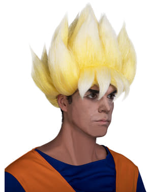 Perucă Super Saiyan - Dragon Ball