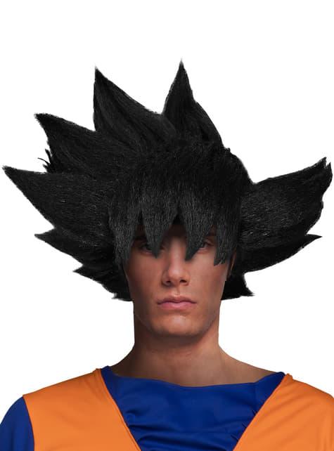 Perruque Son Goku Dragon Ball adulte. Les