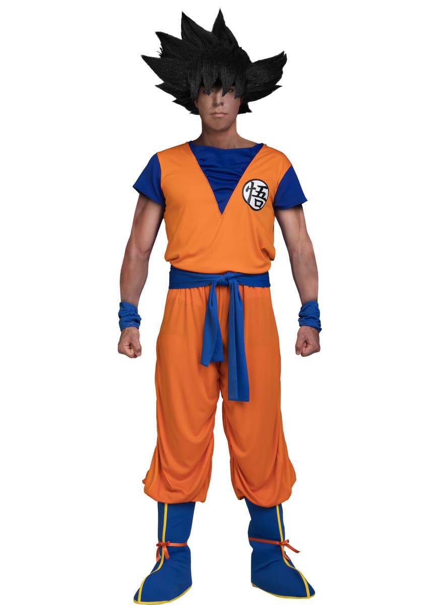 Maskeraddräkt Goku för Vuxen - Dragon Ball.  .   rabatt. Dela på  Facebook   Twitter  Pinterest · Se bilder 101a13139b8d4