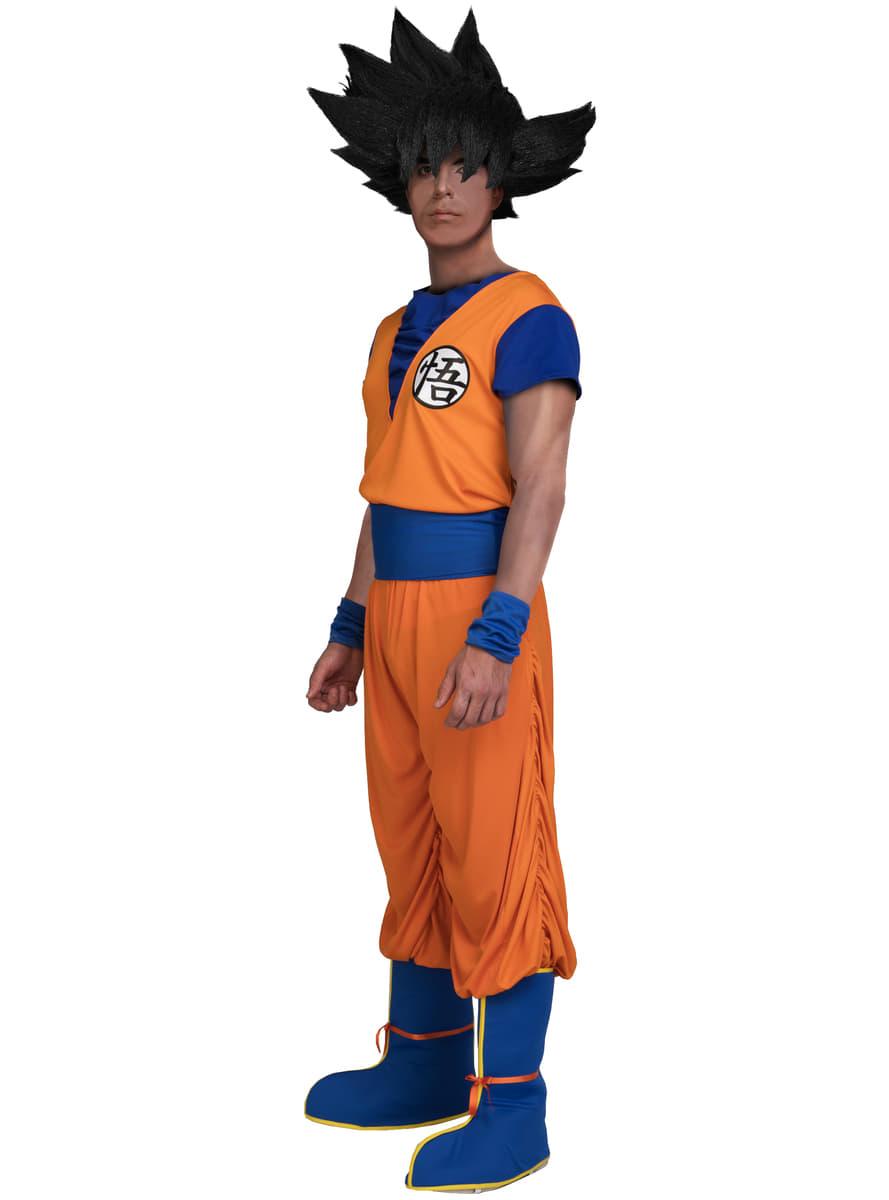 Maskeraddräkt Goku för vuxen – Dragon Ball online  85448f4c15819