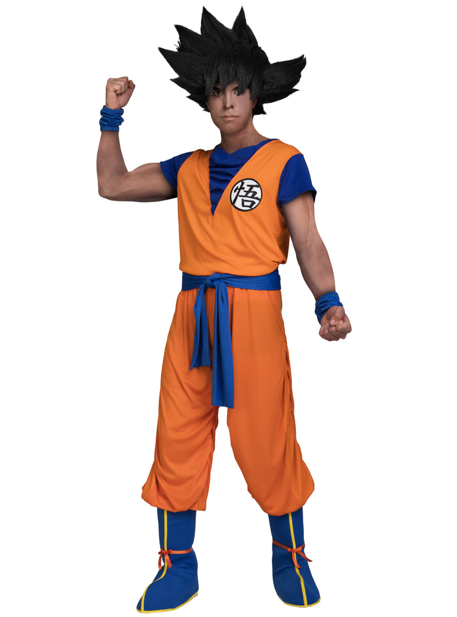 Dragon Ball Goku Costume For Adults Express Delivery