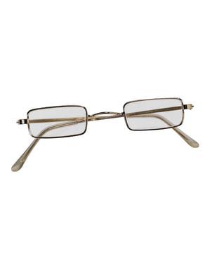 Rechteckige Brille