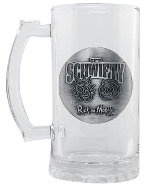 Rick and Morty glass tankard