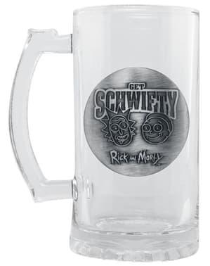 Rick en Morty glazen bierpul