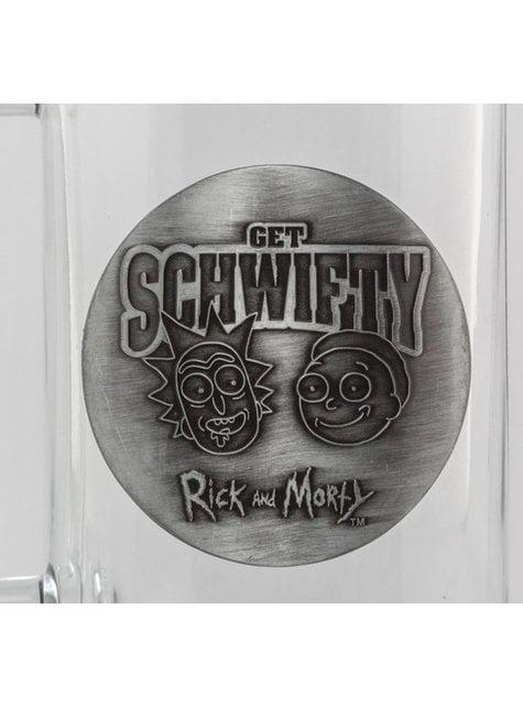 Jarra de cristal de Rick y Morty - oficial