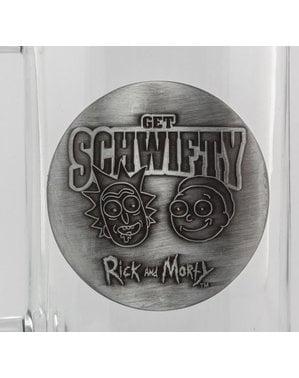 Caneca de cristal de Rick and Morty