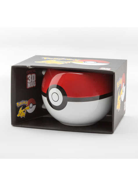 Caneca 3D de Pokemon Pokeball