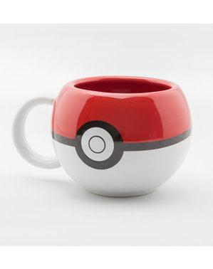 Caneca 3D de Pokemon Pokeball
