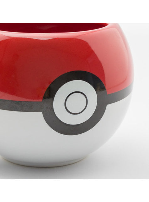 Taza 3D de Pokemon Pokeball - oficial