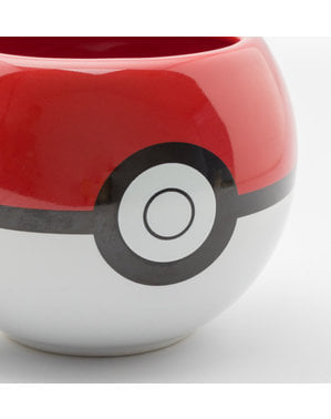 Taza 3D de Pokemon Pokeball