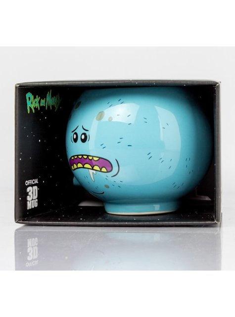 Caneca 3D de Rick and Morty Mr Meeseeks